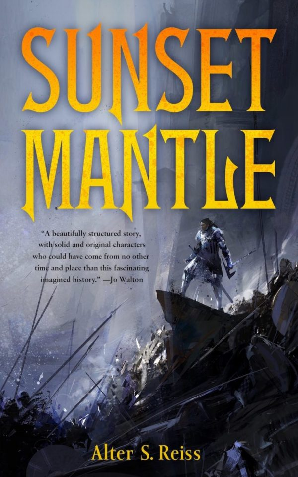 Richard Anderson SFF book covers Sunset Mantle Alter S. Reiss