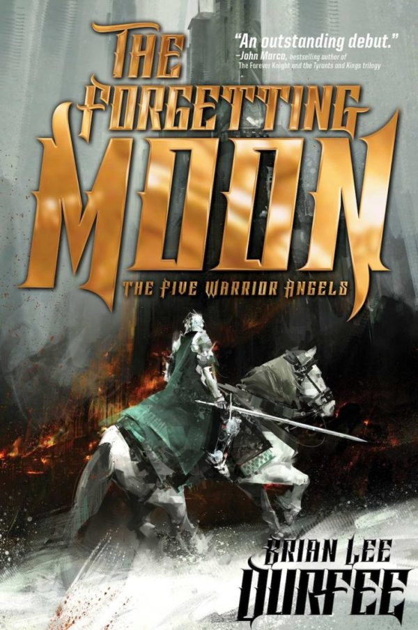 Richard Anderson SFF book covers The Forgetting Moon