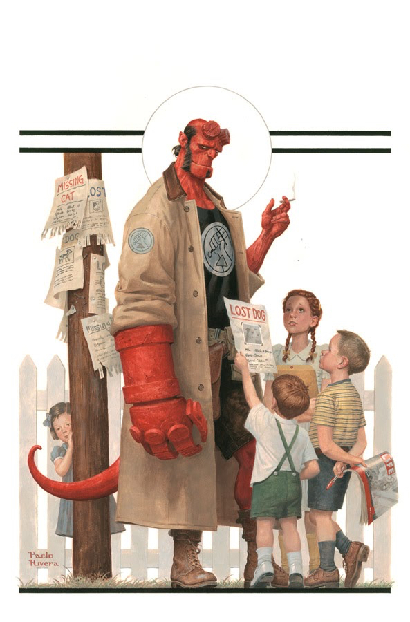 Chesley Award nominees Hellboy Paolo Rivera