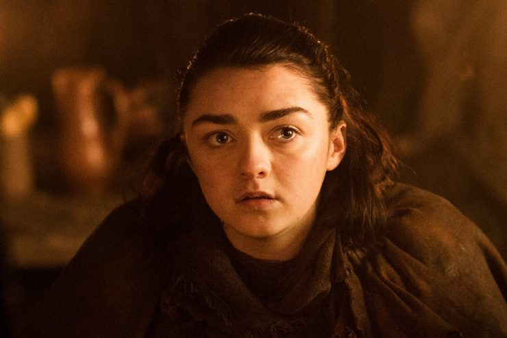 Game of Thrones season 7 photos Arya