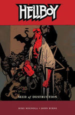 Hellboy adaptation Mike Mignola David Harbour