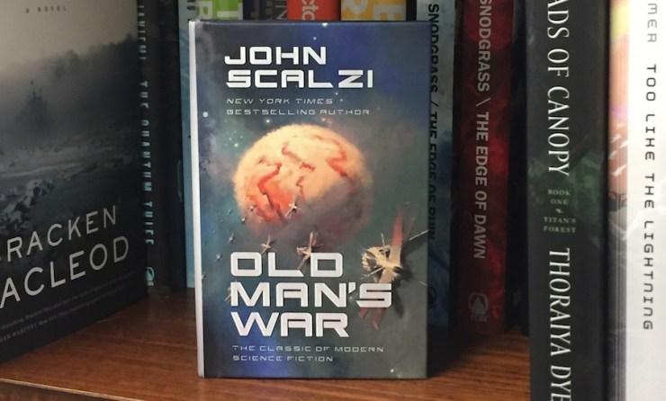 John Scalzi Old Man's War mini hardcover