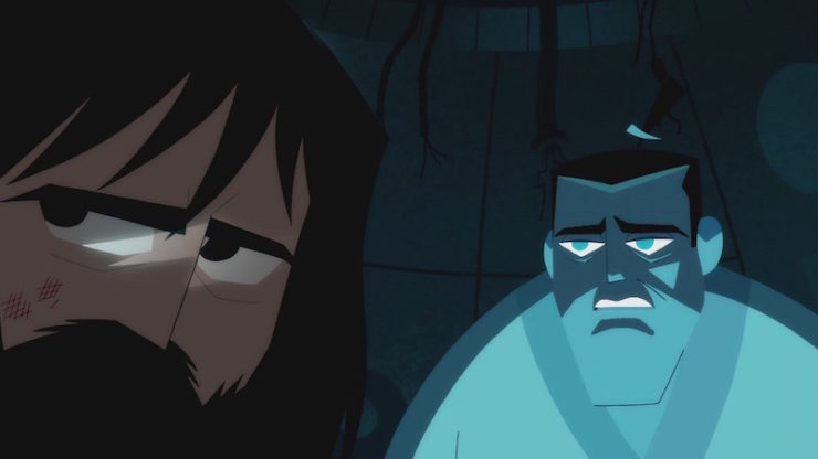 Samurai Jack Battles Depression Suicide And Ptsd In An