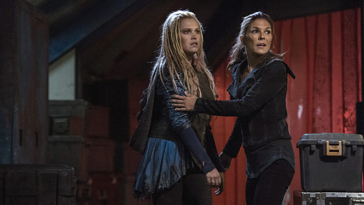 Abby Griffin Clarke Griffin The 100