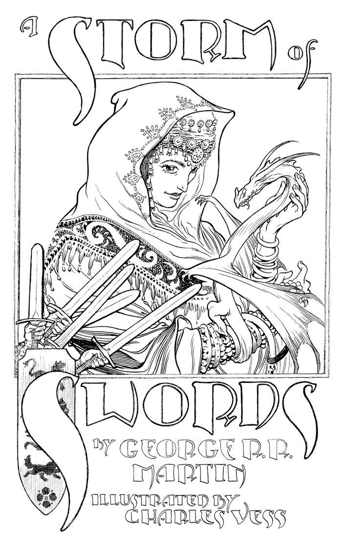 Charles Vess A Storm of Swords illustrated edition