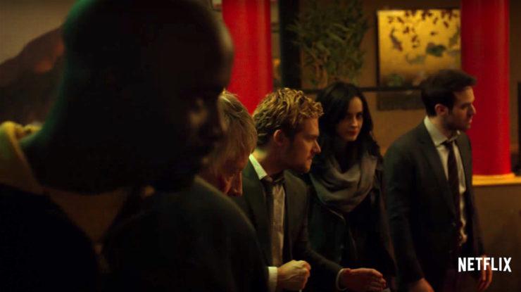 The Defenders trailer Marvel Netflix