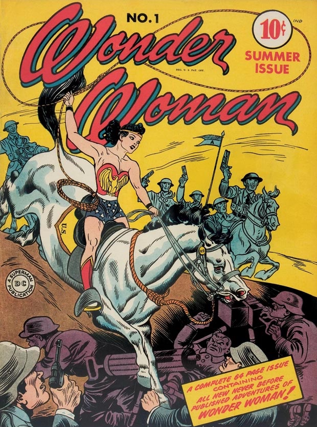 Wonder Woman issue 1 H.G. Peters art