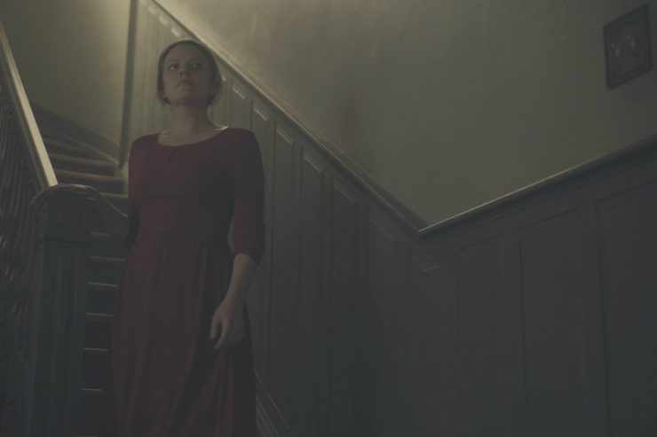 """The Handmaid's Tale """"A Woman's Place"""" television review"""