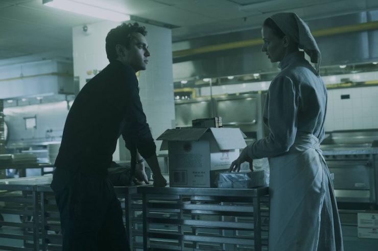 The Handmaid's Tale 1x08 Jezebels television review Martha contraband Nick