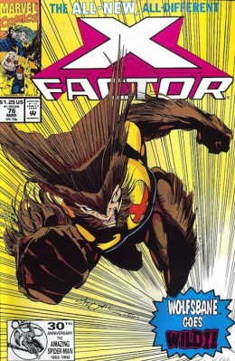 X-Factor 76 Wolfsbane