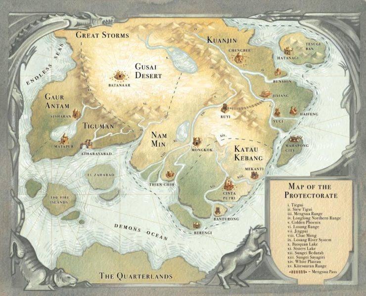 Tensorate Series World Map