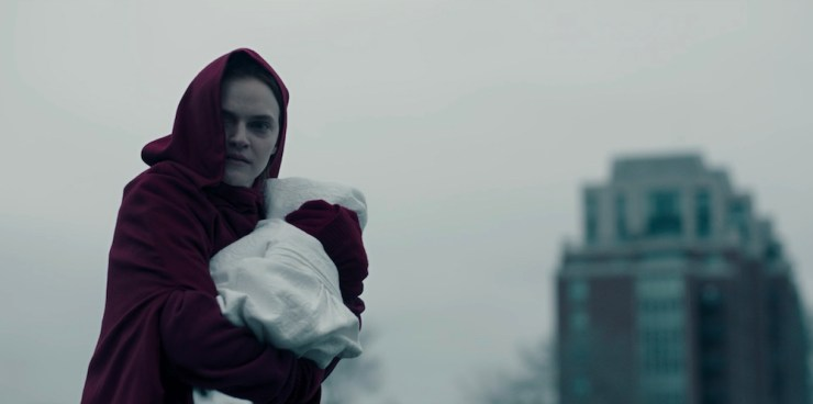 The Handmaid's Tale bitches praised be oppression language