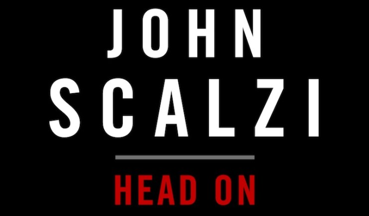 John Scalzi, Head On, cover