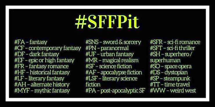 SFFPit hashtag guide