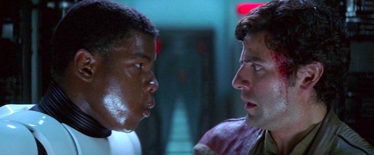 Star Wars, Force Awakens, Poe and Finn