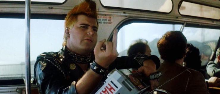 Star Trek IV: Voyage Home, Punk on Bus