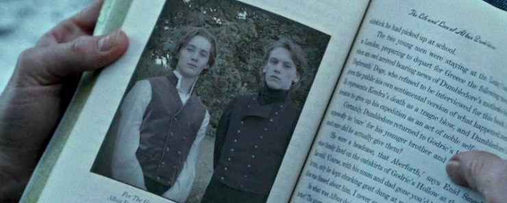 Dumbledore and Grindelwald
