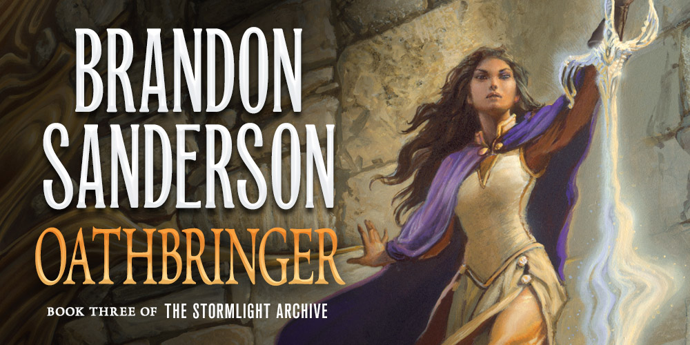 Read Brandon Sanderson's Oathbringer, Stormlight Archive Book 3, for Free on Tor.com!