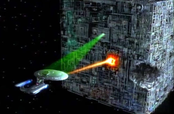 Star Trek, Borg cube