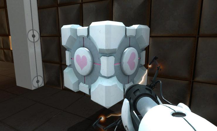 Portal, Companion Cube