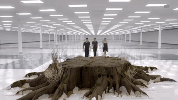 Teen Wolf tree stump is magic