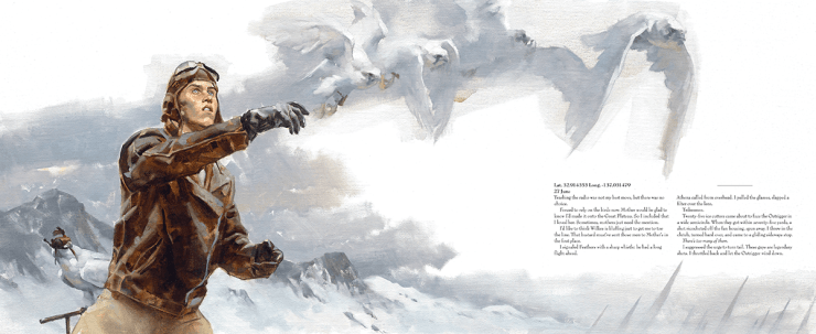 Above the Timberline by Greg Manchess