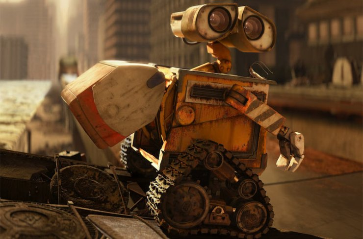 WALL-E and Hal