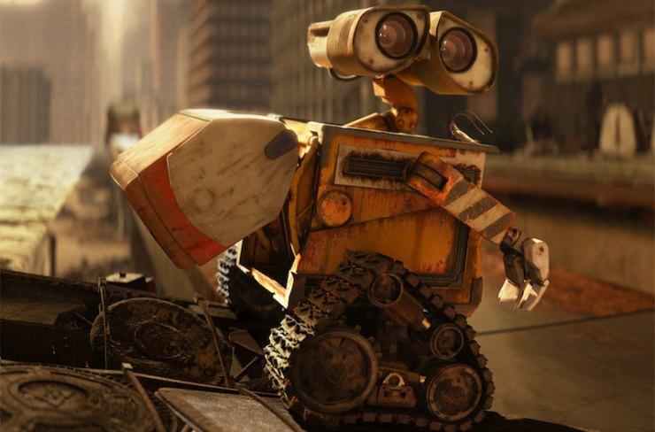 WALL-E and Hal