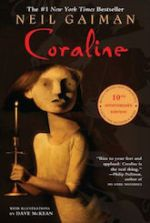 Coraline Neil Gaiman quirky horror books list