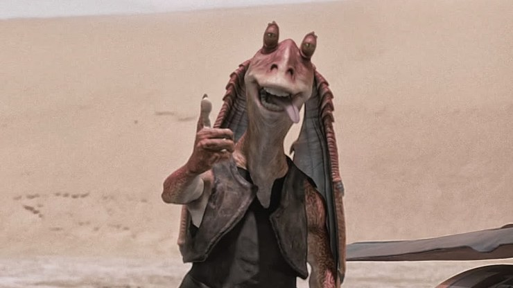 Jar Jar Binks thumbs up