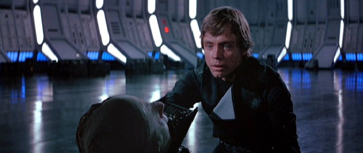 Luke, Anakin, Return of the King