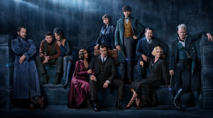 Fantastic Beasts 2, cast photo