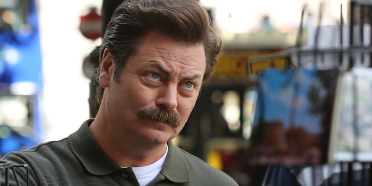 Nick Offerman, Gimli