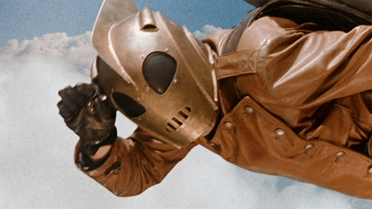 The Rocketeer salute