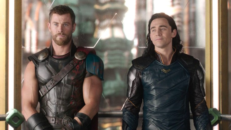Thor: Ragnarok, Thor and Loki
