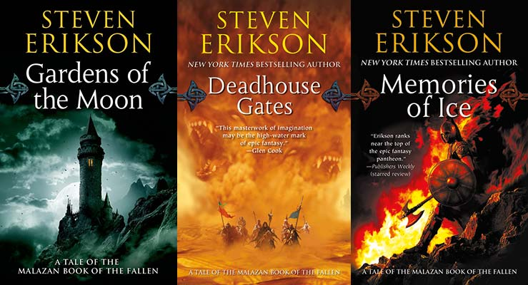 Malazan authors series reading order