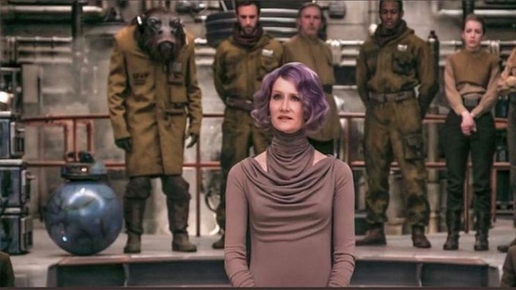 Amilyn Holdo, Last Jedi