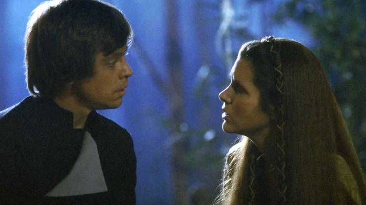 Luke and Leia. Return of the Jedi