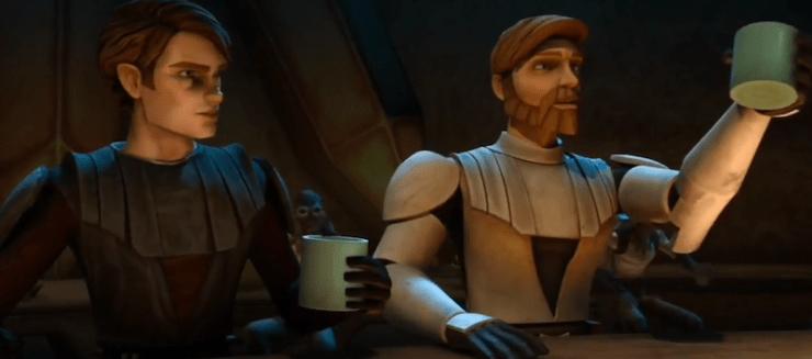 Obi-Wan Kenobi, drinking