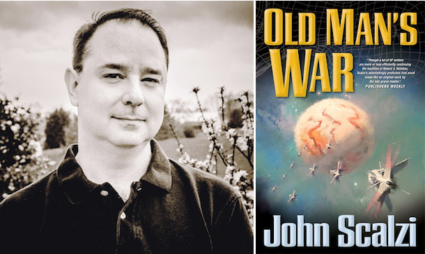 John Scalzi Old Man's War adaptation movie Netflix