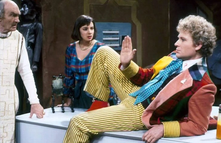 Doctor Who,, Sixth Doctor and Peri