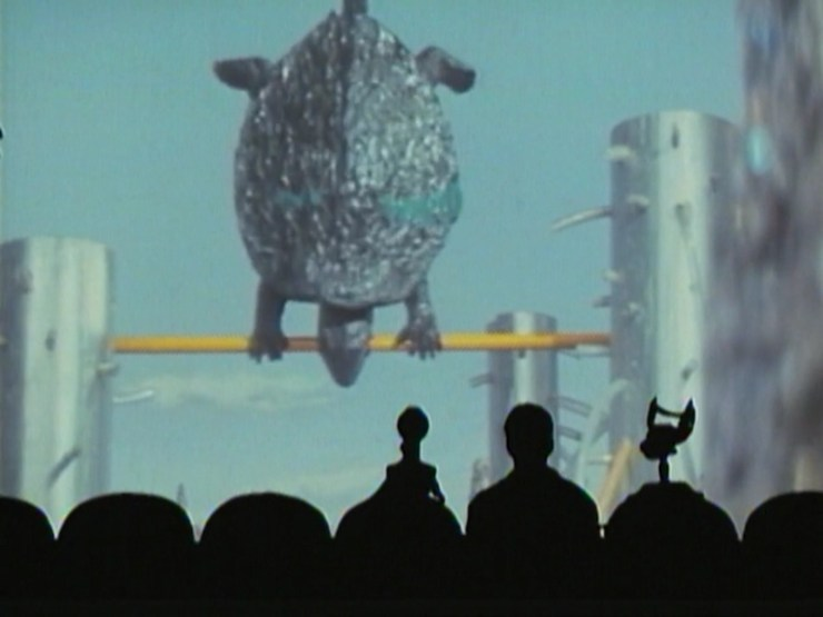 Mystery Science Theater 3000 versus Gamera