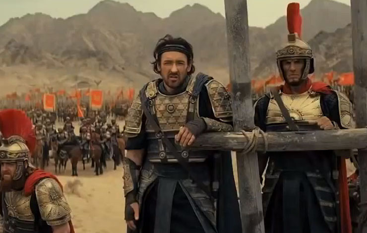 Dragon Blade: Jackie Chan and John Cusack Reinvent History on the