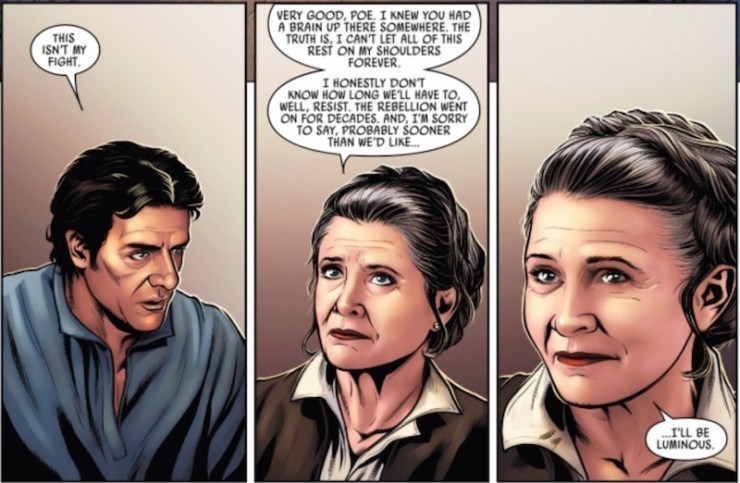Wow, People Are Really Mad at Poe Dameron | Tor com
