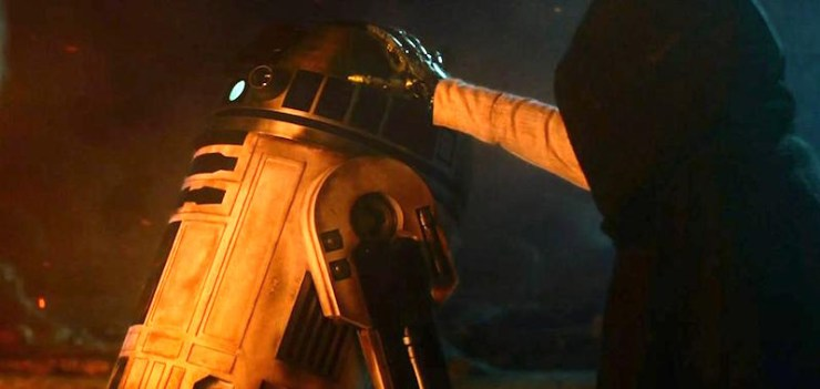 The Force Awakens, R2, Luke