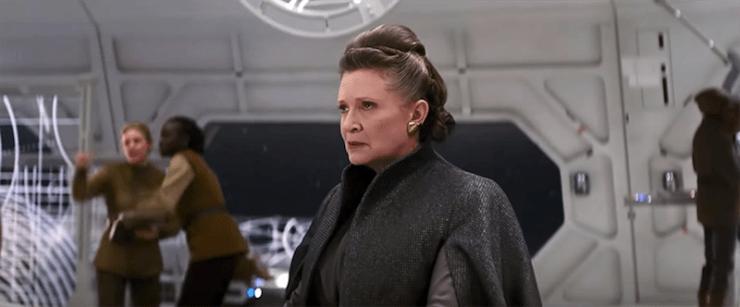 Star Wars, The Last Jedi, Leia