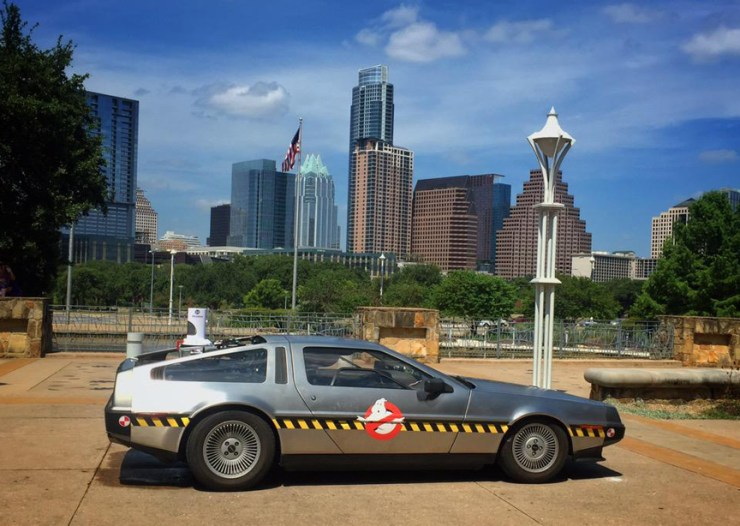 Ernest Cline DeLorean ECTO88-Austin