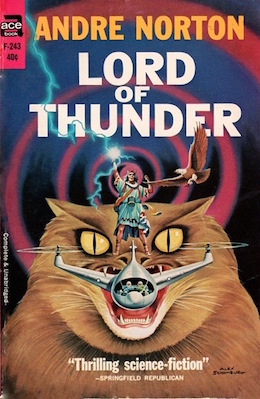 Blog Post Featured Image - Going Native: Andre Norton's Lord of Thunder