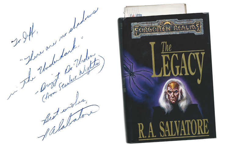 The Legacies and Dark Elves of R  A  Salvatore | Tor com