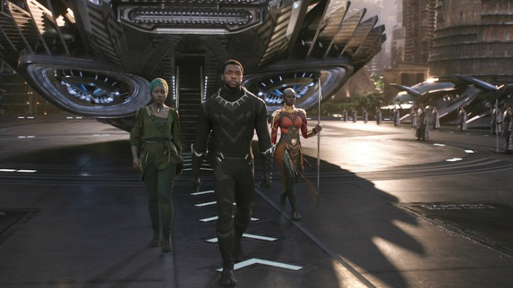Black Panther afrofuturism bridge past present